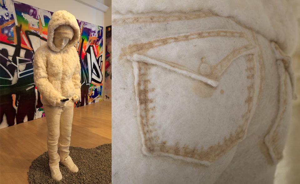 Sculpture | Jeans | Flock